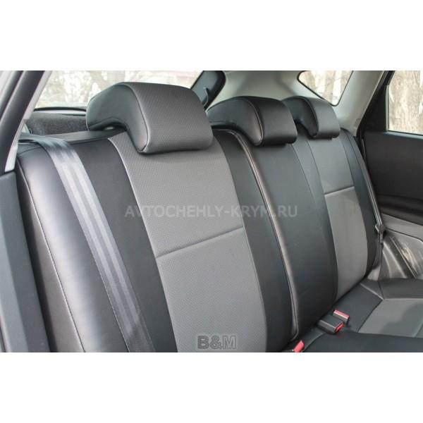 Авточехлы из экокожи Автопилот на Nissan