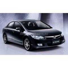 Авточехлы BM для Honda Civic 8 (седан с 2006-2012)