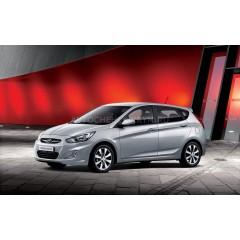 Авточехлы BM для Hyundai Solaris (accent) Хетчбэк
