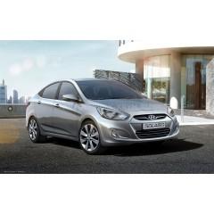 Авточехлы BM для Hyundai Solaris (accent) Седан